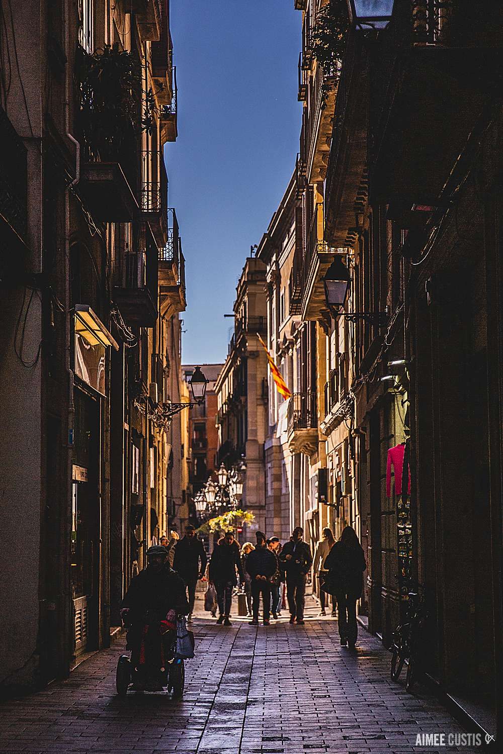 I LOVED our neighborhood of El Born… but El Raval and El Gotic were pretty magical, too… just a little grander.