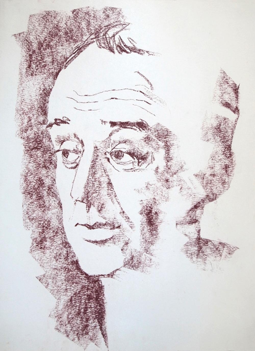 Wyman Pendleton (Conte crayon)