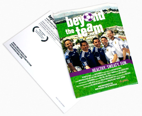 Beyond The Team Movie Postcard