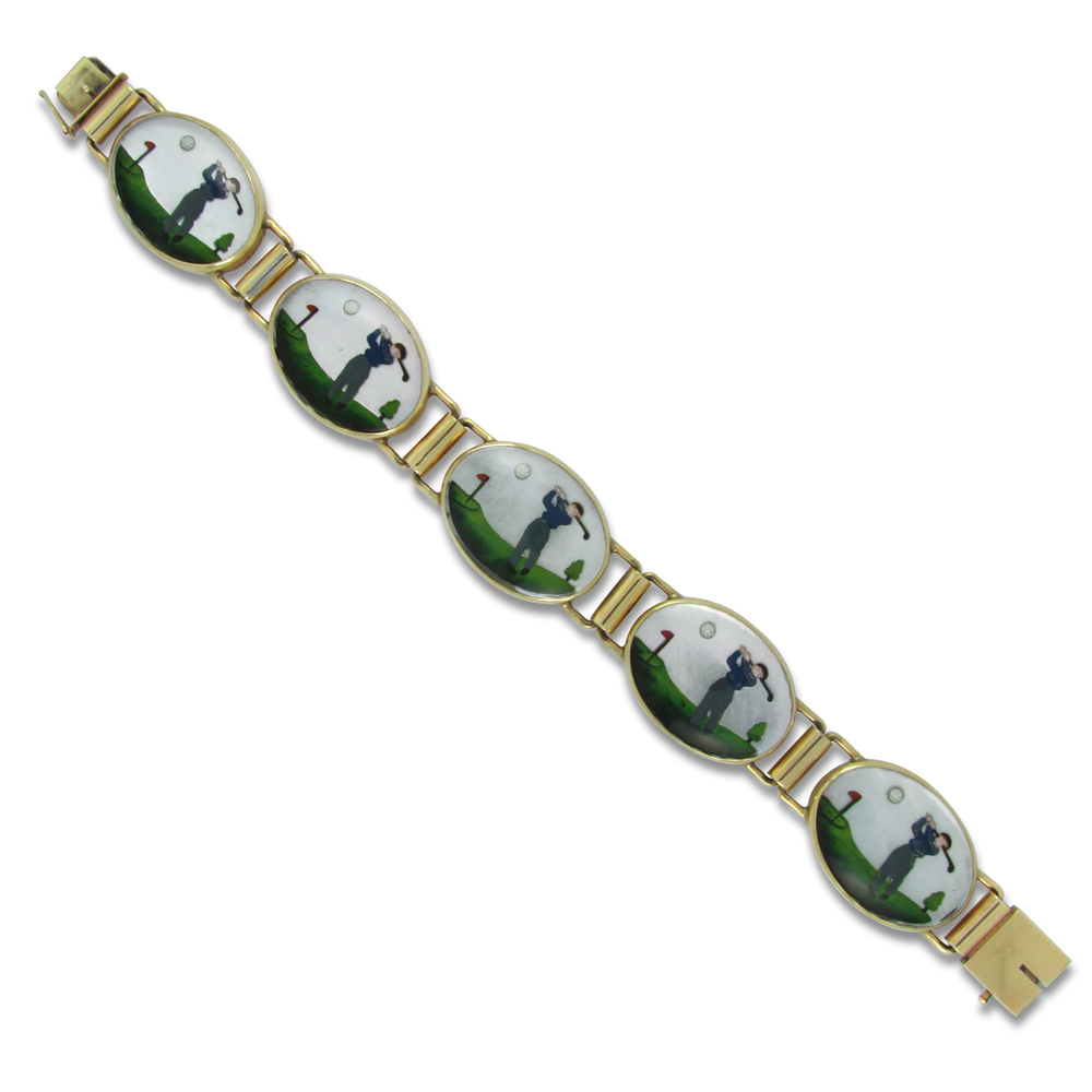 Crystal Golf Bracelet