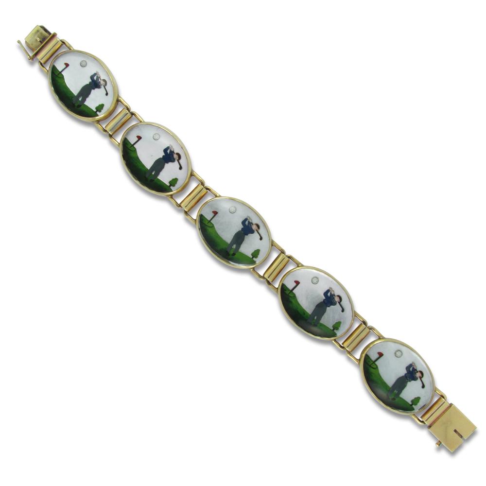 Crystal Golfers Bracelet