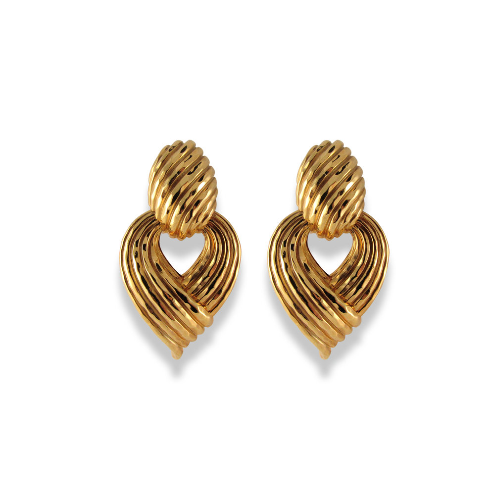 Henry Dunay Door Knockers Earrings
