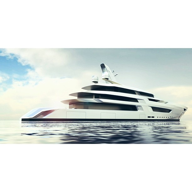 A first of collaborations with Oceanco and Bannenberg Rowell in creating a striking profile based on their 100m platform.   I would love to collaborate with B&R on future designs. Not only are they passionate about yachts but also aviation, interiors, or building design.   #yacht#theyachtcollective#design#yachtdesign#architecture#megayacht#superyacht#yachtie#water#boat#beautiful#exotic#luxuryyacht#luxury#aesthetic#proportion#concept#madeinusa#ocean#paradise#timeless#travel#elegance#beauty#concept#render (at New York City)