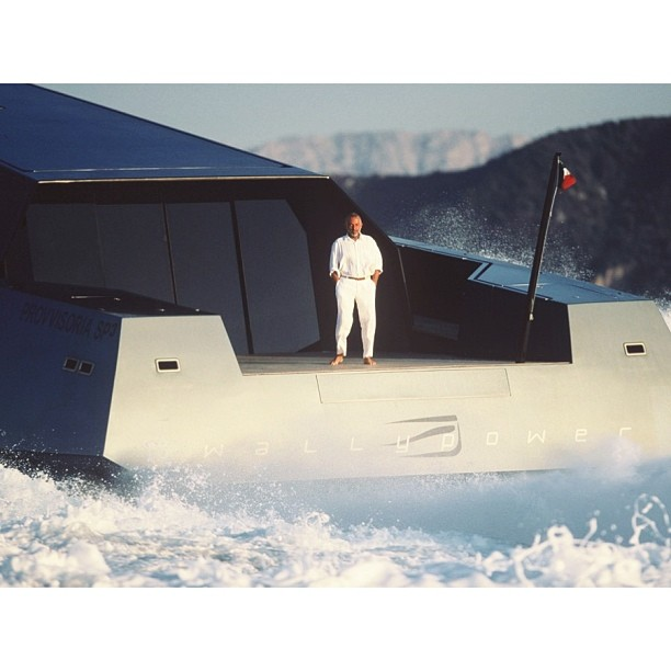 Mr. Luca Bassani, a pure innovator in the yacht industry. He first expanded our idea of what was possible with the motor yacht Wally 118, then he designed using the Nordic hull, Wally Why concept, and most recently the longest carbon fiber sloop sailing yacht, Better Place. A true inspiration.     #superyacht#megayaht#yacht#boat#travel#lifestyle#luxury#build#yachtcrew#theyachtcollective#wally#monaco#wally118#innovation#industrialdesign#architecture#innovation#beauty#power#mrporter (at New York City)