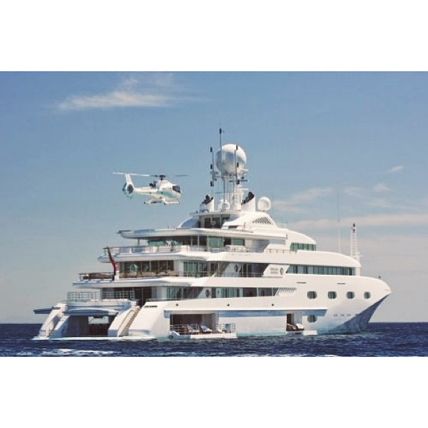 Pegasus V (79m)  Builder: Royal Denship  Ready for the owner to arrive.