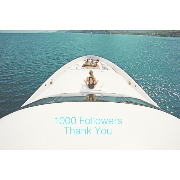 Thank you all for the incredible following. This is my promise to keep bringing you a unique and beautiful yacht experience.