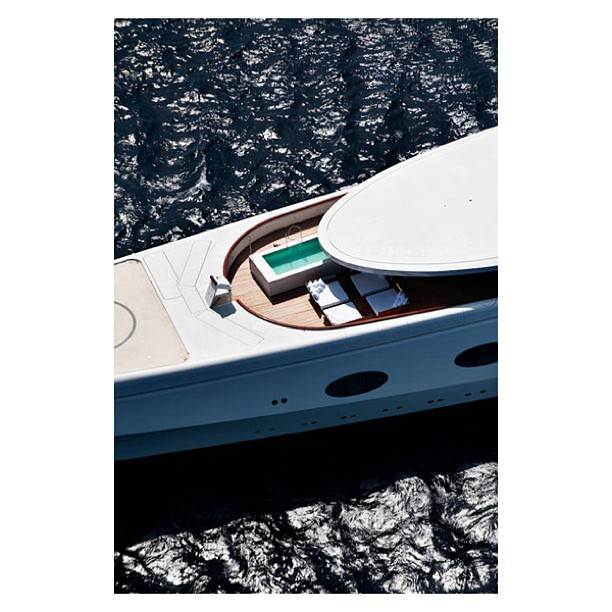 Can you guess what yacht this is??? Designer: Philippe Starck Builder: Blohm & Voss