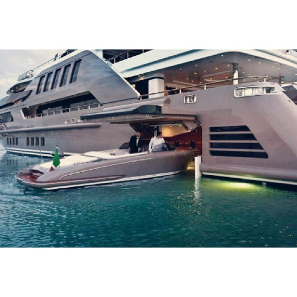 CRN is proud to unveil the completed interiors of the 60m J'Ade, the world's first mega yacht to feature a floating garage. Designer/Builder: CRN Interiors: Zuccon International @jdwdesign do you know who the designers are of this yacht? I can't seem to find anything…