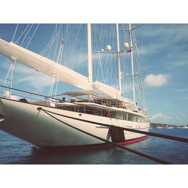 S/Y Athena is the epitome of a modern classic yacht. She was built by Royal Huisman in 2004. She is a Glaff Rig Schooner. Although it is hard to take a critical stance on this yacht, it would be great see more schooner concepts being introduced.