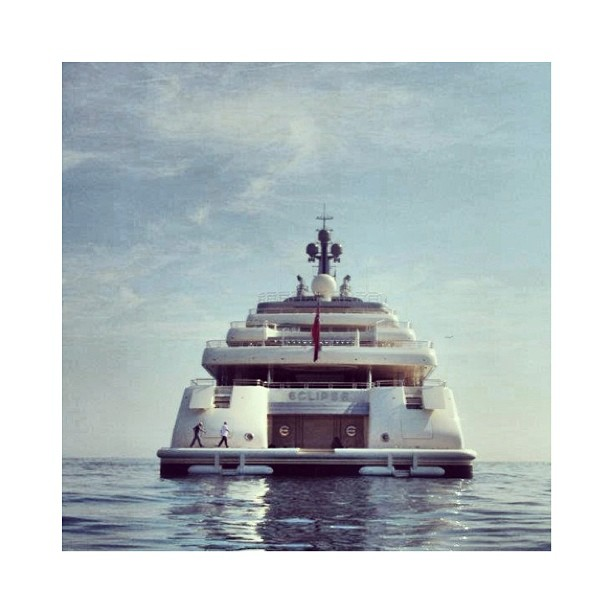 M.Y. Eclipse                          Scale is Everything.                 Designer: Terence Disdale       Builder: Blohm + Voss          #beautiful#exotic#yacht#yachtclub#yachts#yachtdesign#luxuryyacht#yachtie#yachtlover#superyacht#megayacht#wealth#sailing#boat#blue#yachtculture#aesthetic#theyachtcollective#sealife#Eclipse#blohmandvoss#terencedisdale