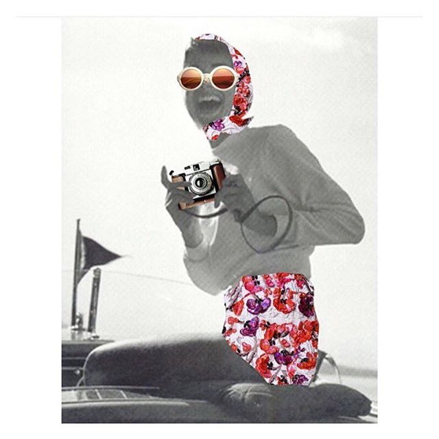 Woman's Day / collage by my love @annakorkobcova  #art#collage#audreyhepburn#riva#womansday