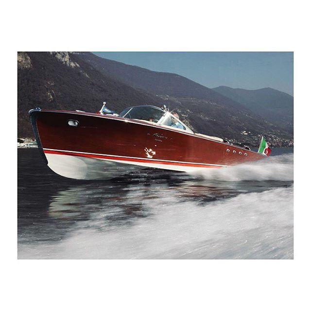 La Dolce Vita #riva#riviera#icon#boat#italy