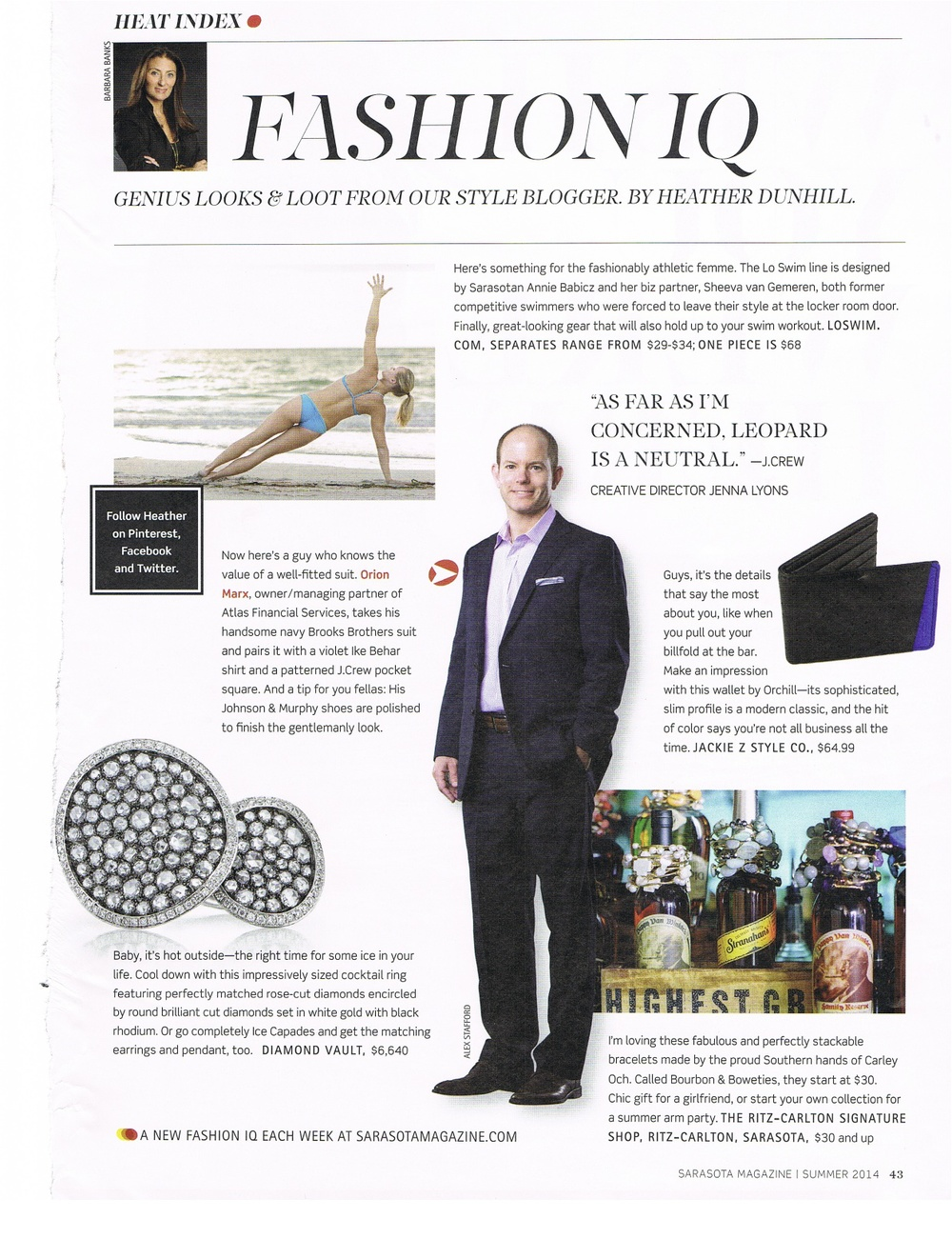 Sarasota Magazine - July 2014