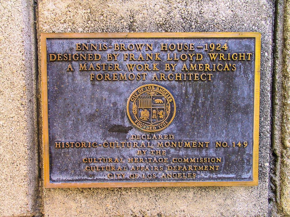 Historical dedication.