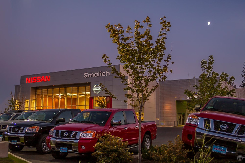 Smolich Motors Bend Or >> Smolich Nissan, Bend, Oregon - Obsidian Architecture | Bend, central Oregon architect