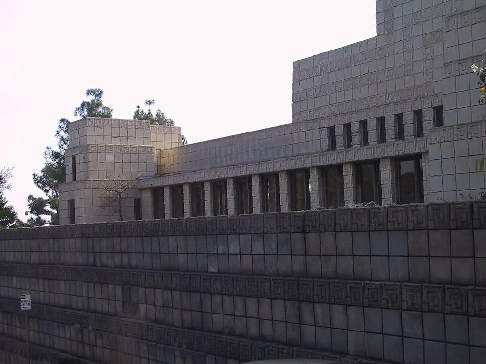 The north terrace.