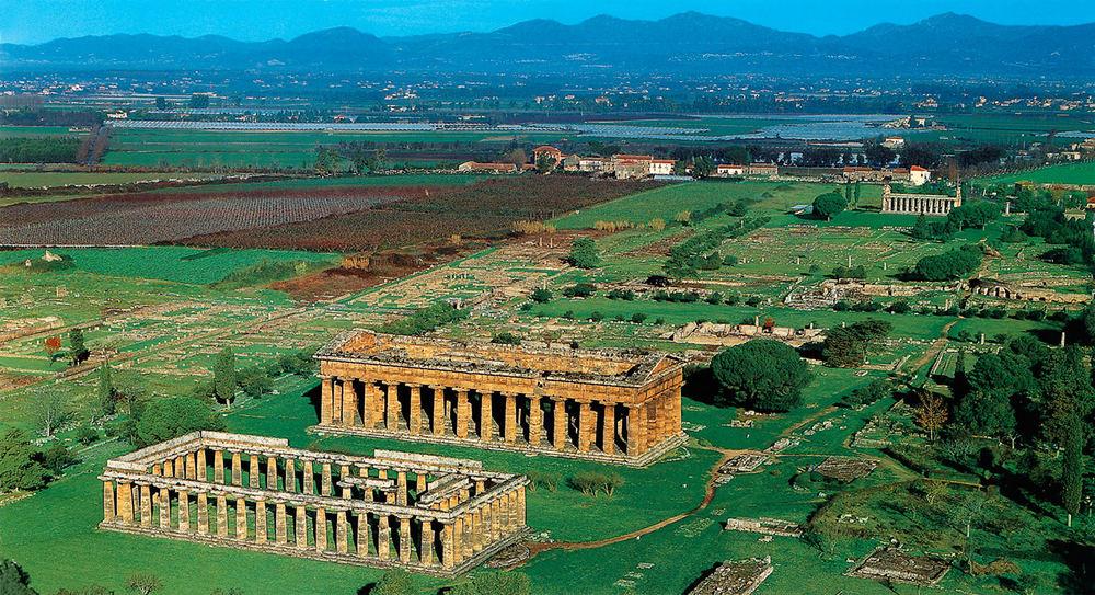 Amphitheatre, Paestum, Italy
