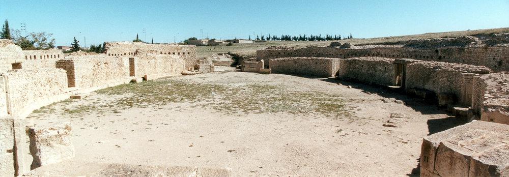 Amphitheatre, Maktaris (present day Maktar), Tunisia