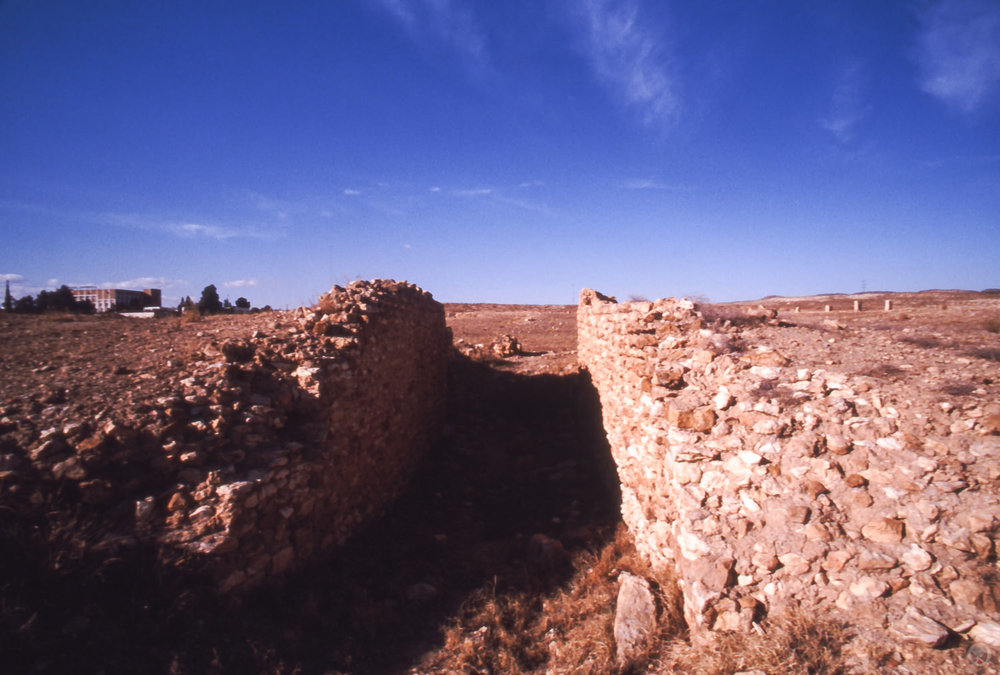 Amphitheatre, Sufetula (present day Sbeïtla), Tunisia