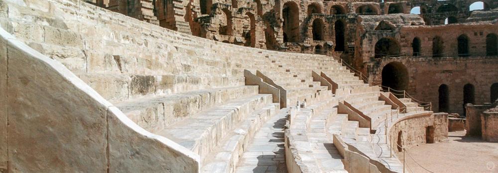 3rd Amphitheatre of Thysdrus (present day El Jem), Tunisia