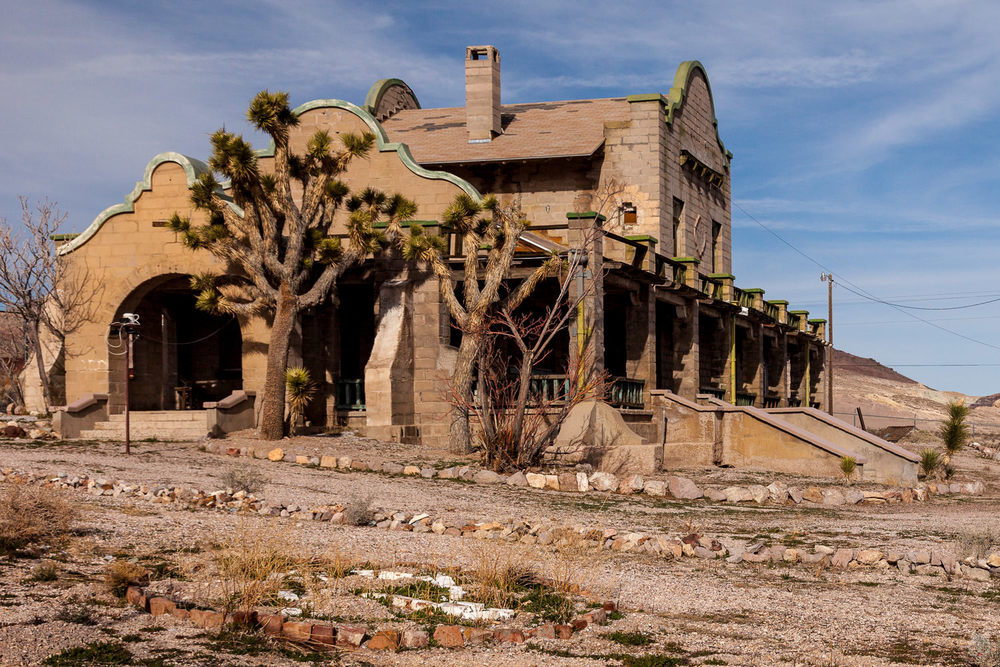 Obsidian Architecture Bend Central Oregon Architect Dropping In On The Ruins Of Rhyolite