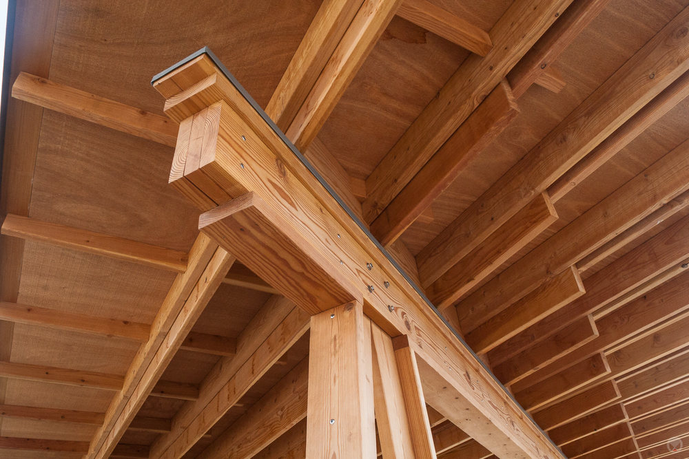 Beam & rafter detail.