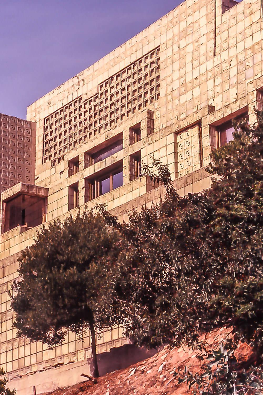 Ennis House, Los Angeles, California