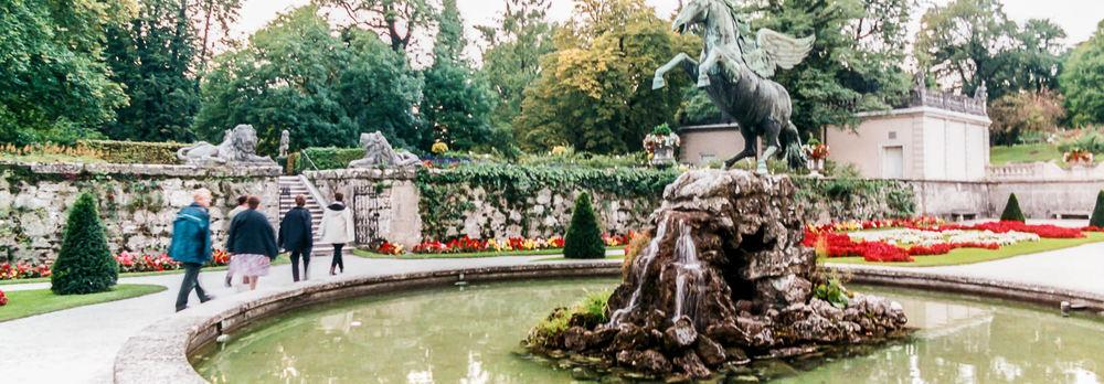 Mirabell Gardens.
