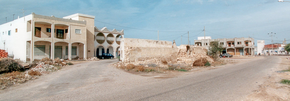 The streets of Mos Eisley, Ajim, Tunisia