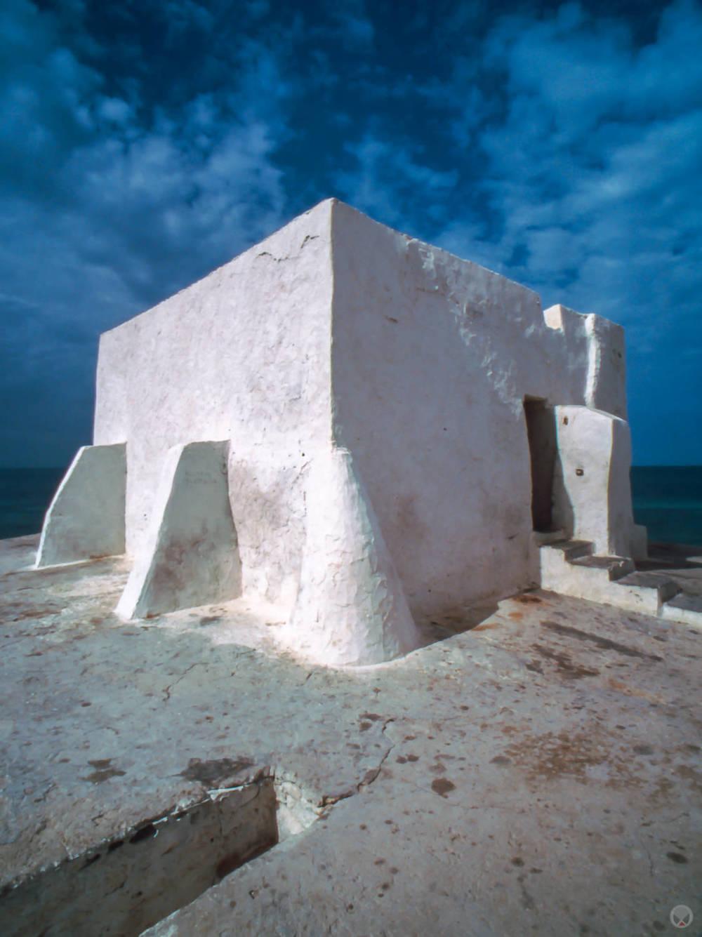 Sidi D'Jemour Mosque, near Melita, Djerba, Tunisia