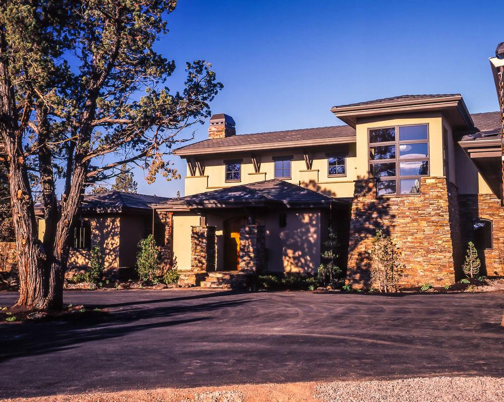 Custom Home Design Tumalo Oregon Obsidian Architecture