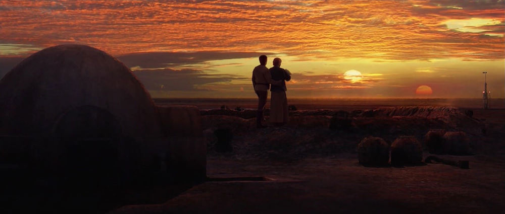 EXTERIOR - TATOOINE, LARS HOMESTEAD