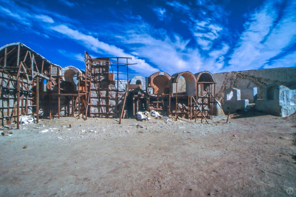 Mos Espa Slave Quarters set, near Onk Jamel, Chott Chtihatt Sgha