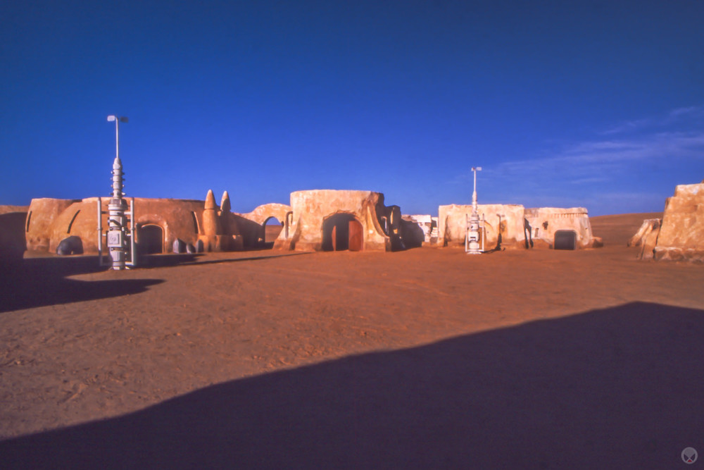 The Mos Espa set, near Onk Jamel, Chott Chtihatt Sghat, Tunisia