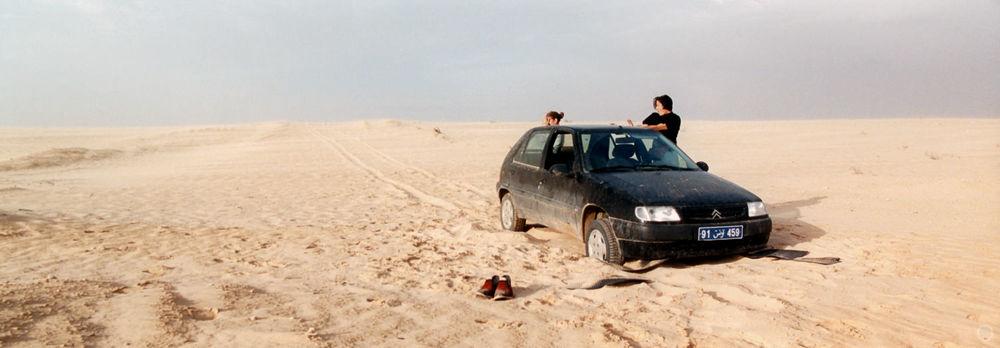 Near Onk Jamel, Chott Chtihatt Sghat, Tunisia