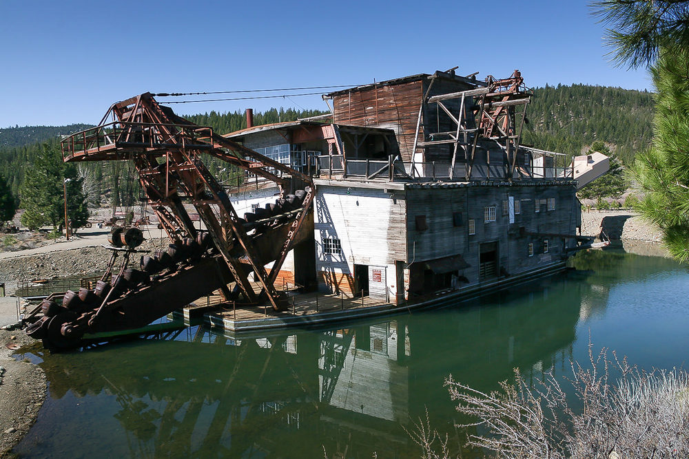 Sumpter Valley Dredge, Sumpter, Oregon