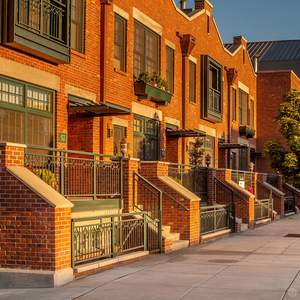 Mill Quarter Townhomes, Old Mill District, Bend, Oregon