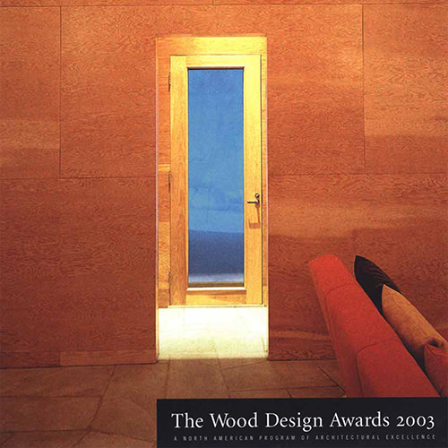 2003 North American Wood Design Awards