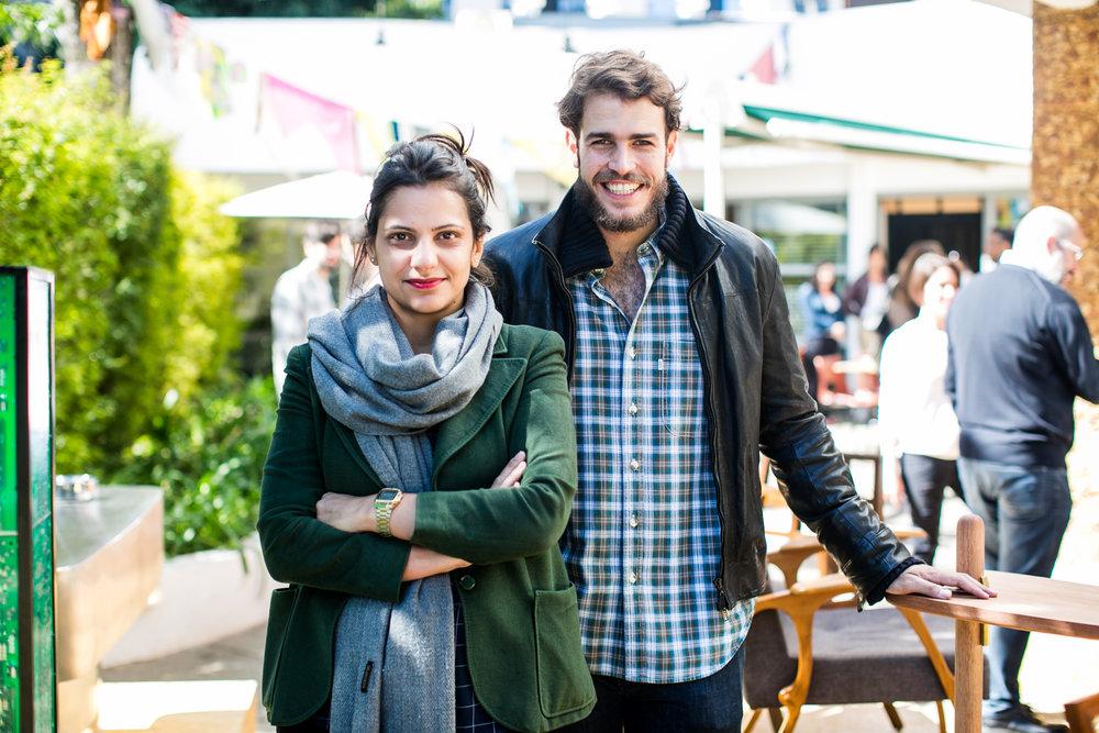 Mônica Boscarino e João Elias | Foto: Barbara Dutra