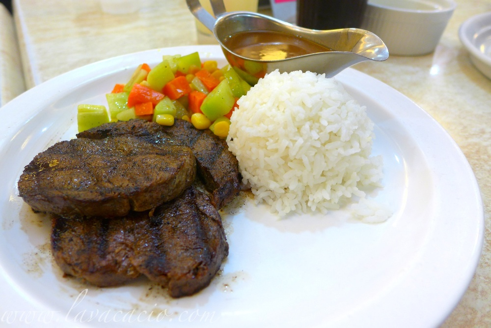 Tenderlon Steak (Php 280)