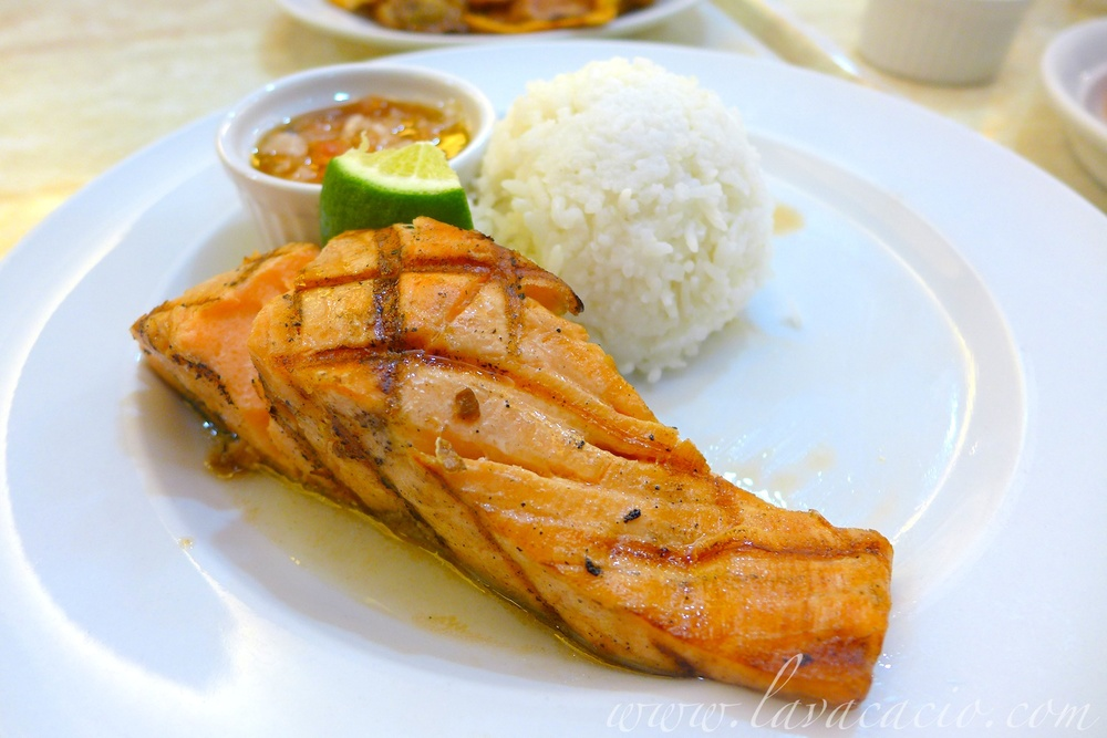 Salmon Steak (Php 315)