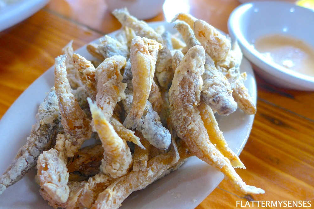 This crunchy fried fish is known as Crispy Biya (Php 150) came as surprise for me! I just love how addicting the crunchiness and toasted taste are that I kept on coming back for more!