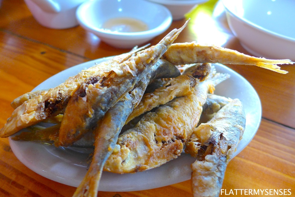 The Crispy fried Tawilis (Php 150) is a sure-ball dish. You will never go wrong with this! Just be careful with the fishbone as they can be bigger than you think!