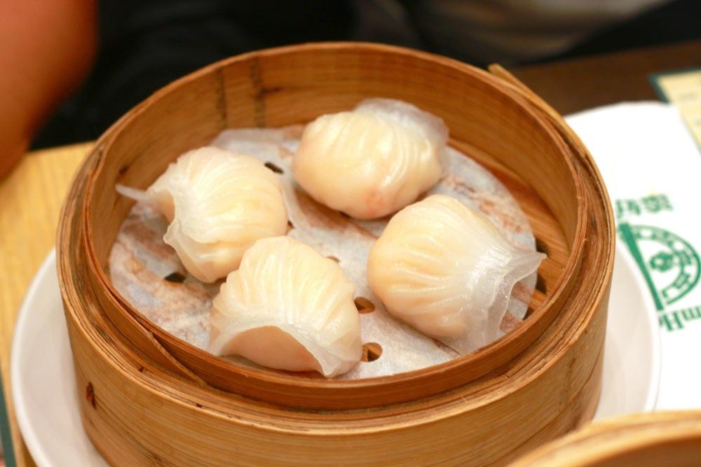 Prawn Dumpling (S$ 5.50)