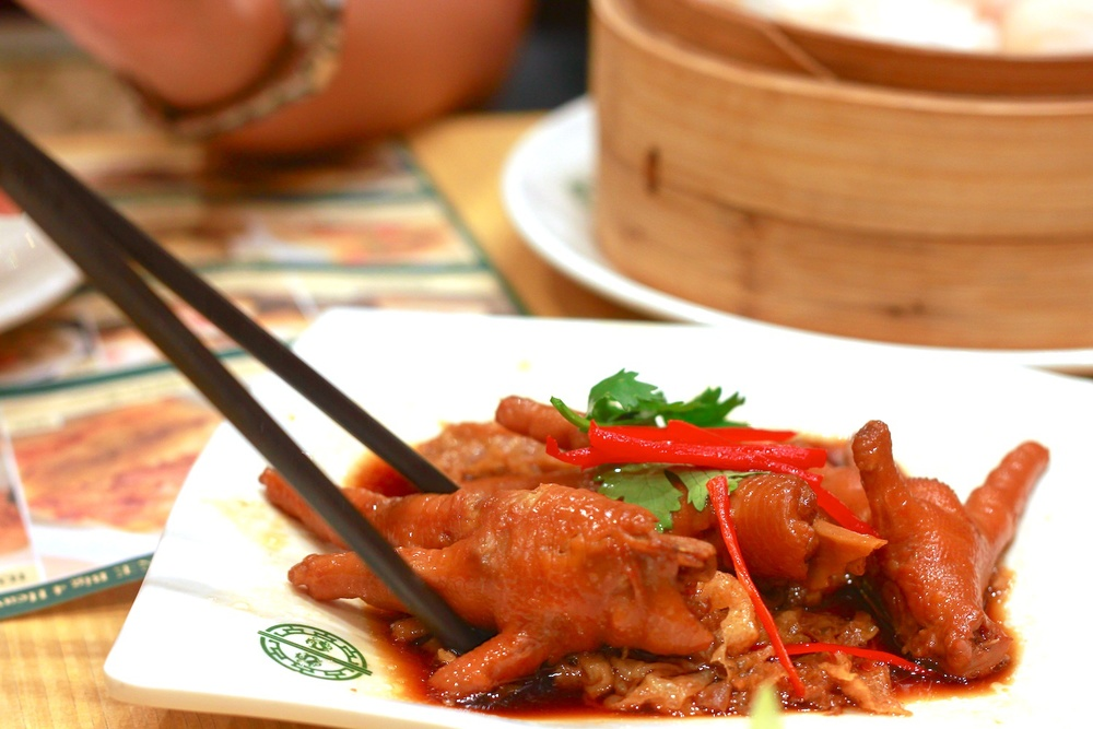 Braised Chicken Feet with Abalone Sauce (S$ 5.00)