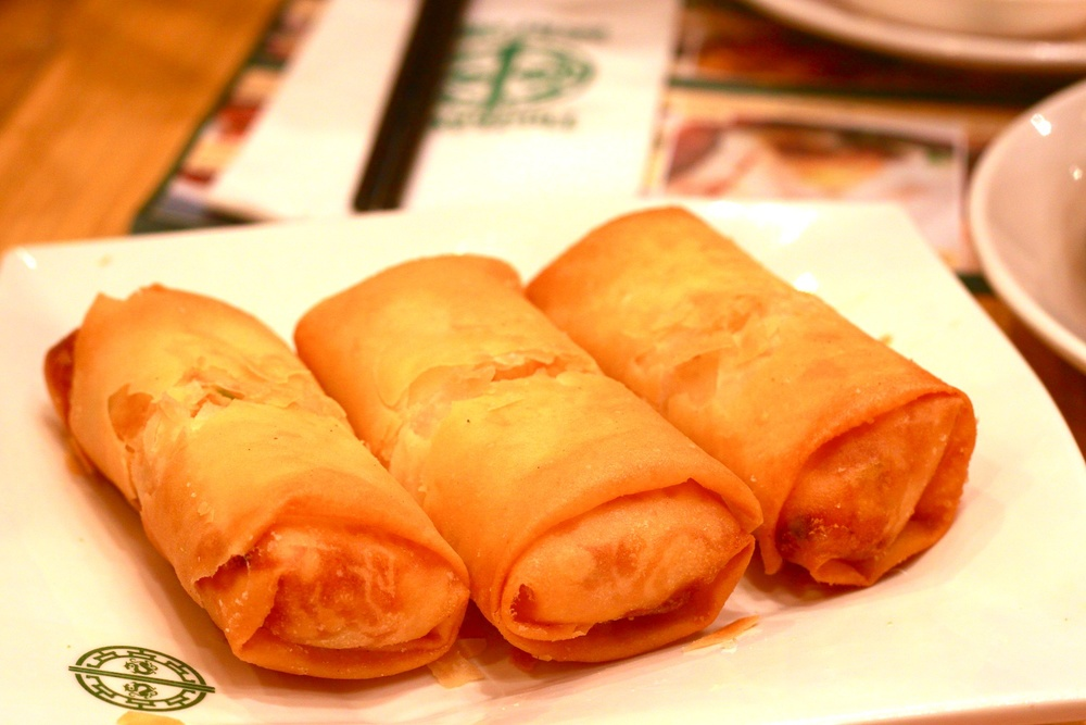 Spring Roll with Egg White (S$ 4.20)