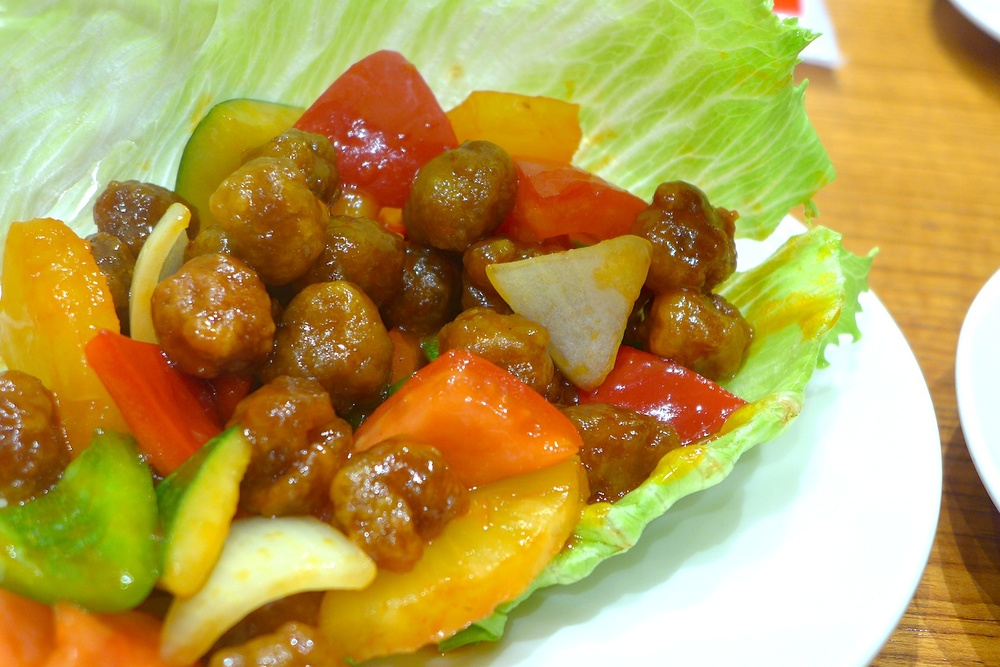 Cantones Sweet and Sour Pork (S$ 16.00)
