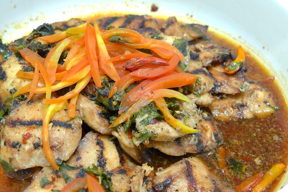 Thai Basil Mahi Mahi. Oh, the things I would do to taste this dish again!