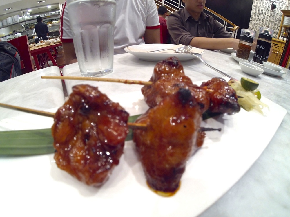 Chicken Ass Skewers (Php 150)