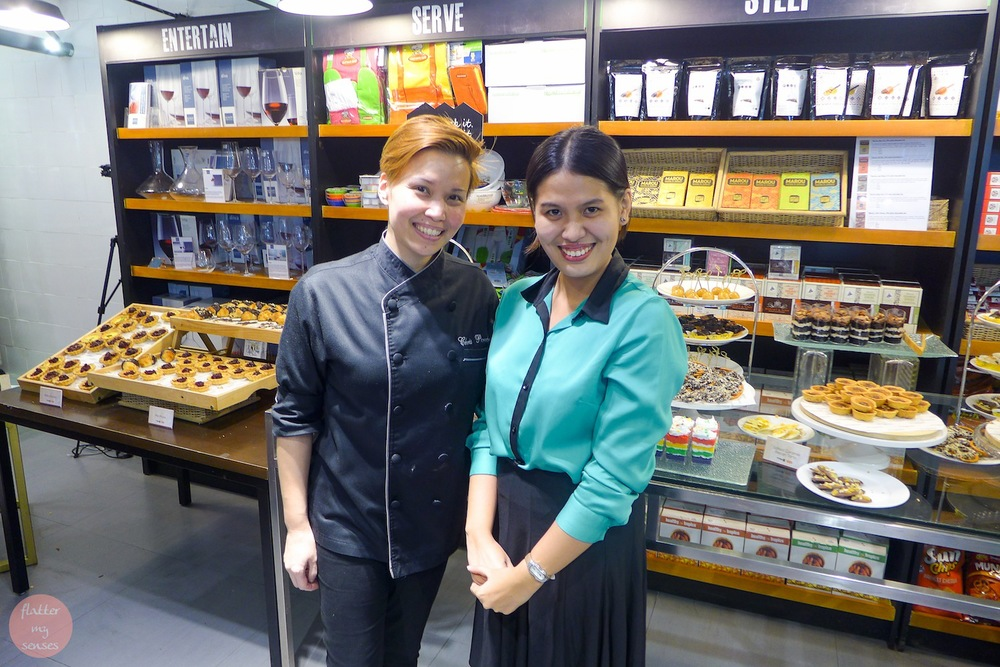 With Chef Christine Paredes